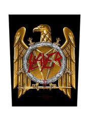 Slayer - Golden Eagle Back Patch