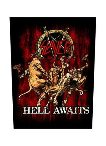 Slayer - Hell Awaits Back Patch