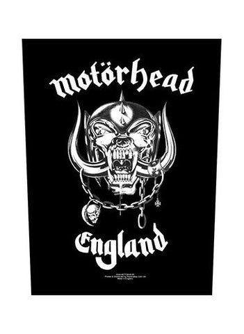 Motorhead - England Back Patch