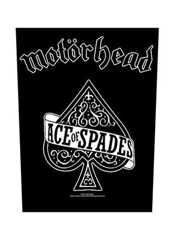 Motorhead - Ace Of Spades Back Patch