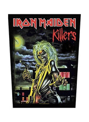 Iron Maiden - Killers Back Patch