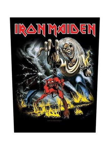 Iron Maiden - Number Of The Beast Back Patch