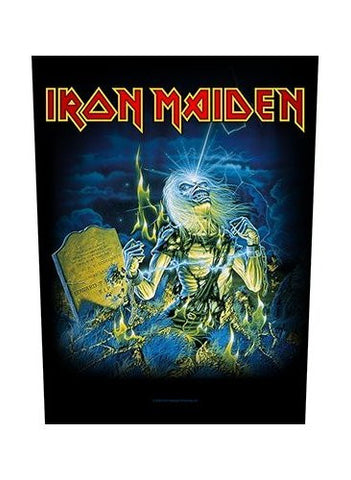 Iron Maiden - Live After Death Back Patch