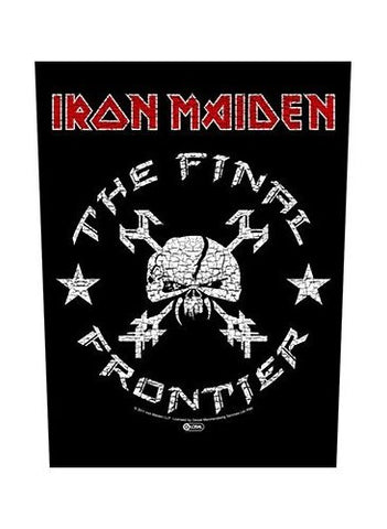 Iron Maiden - The Final Frontier Back Patch