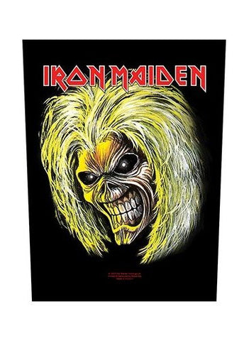 Iron Maiden - Killers Eddie Back Patch