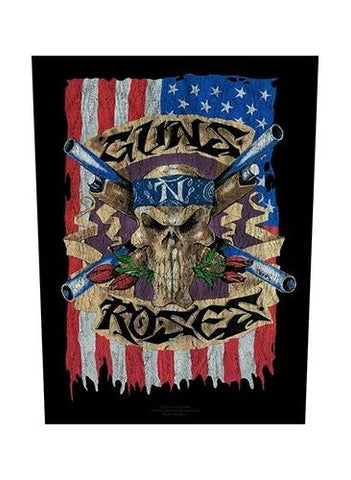Guns N' Roses - US Flag Back Patch