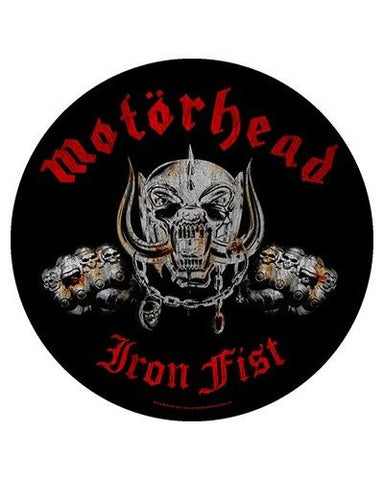 Motorhead - Iron Fist Patch