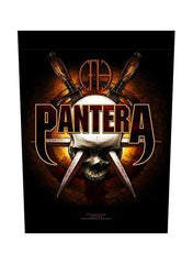 Pantera - Skull Knives Back Patch