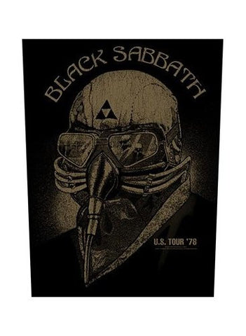 Black Sabbath - US Tour '78 Back Patch