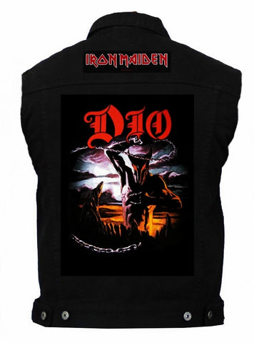 80's Metal 'Dio & Iron Maiden' Battlejacket