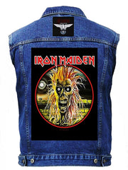 80's Metal 'Iron Maiden & Saxon' Battlejacket