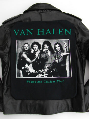 Metalworks Van Halen 'Women and Children First' Leather Jacket