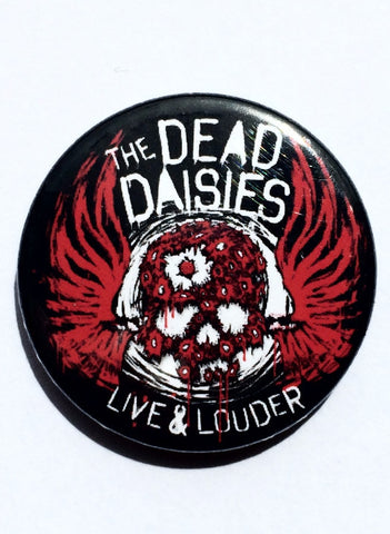 80's Metal Dead Daisies Badge