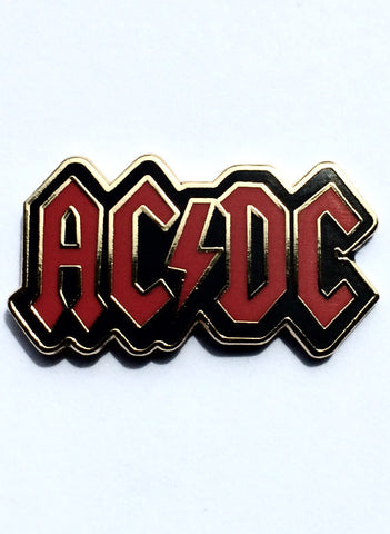 80's Metal AC/DC Badge