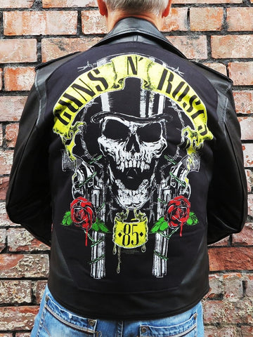 Metalworks Guns N' Roses '85' Leather Jacket
