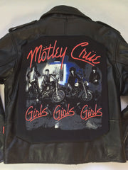 Motley Crue 'Girls Girls Girls' Leather Jacket