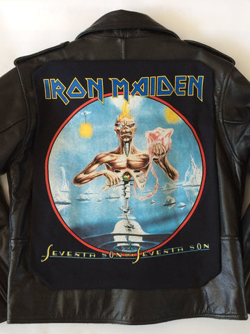 Iron Maiden 'Seventh Son Of A Seventh Son' Leather Jacket