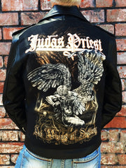 Metalworks Judas Priest 'Sad Wings Of Destiny' Leather Jacket
