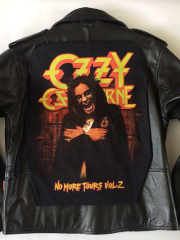 Metalworks Ozzy Osbourne 'No More Tours 2' Leather Jacket