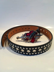 80's Glam - 'Love Hurts' Belt