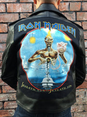 Metalworks Iron Maiden 'Seventh Son Of A Seventh Son' Leather Jacket