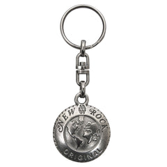 New Rock Shield Key Ring