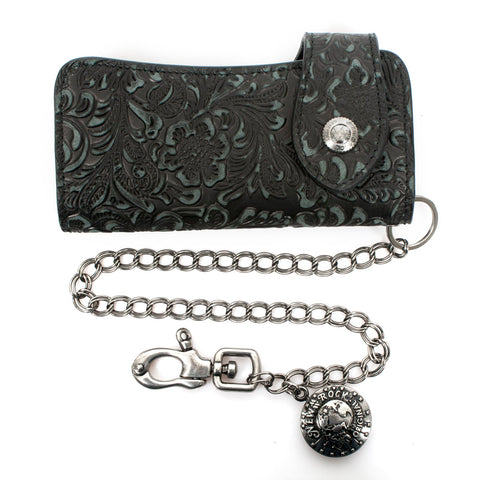 New Rock 006-S2 Wallet & Chain