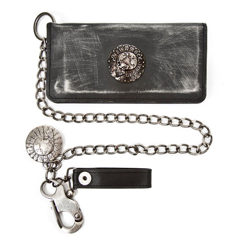 New Rock 012-S1 Wallet & Chain