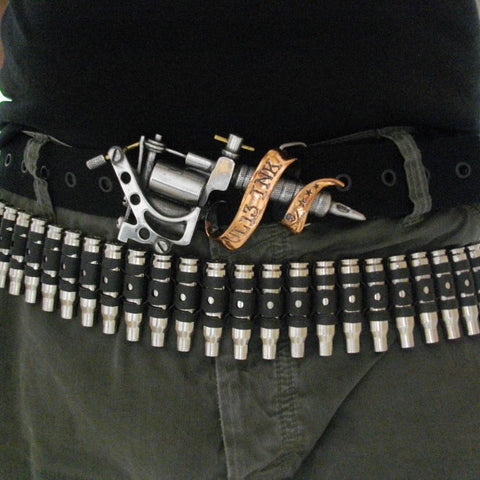 5.56 Nickel Untipped Bullet Belt