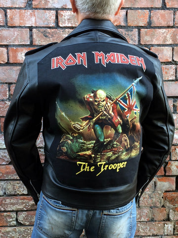 Metalworks Iron Maiden 'The Trooper' Leather Jacket