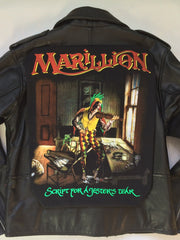 Metalworks Marillion 'Script For A Jesters Tear' Leather Jacket