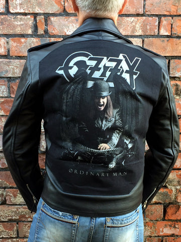 Metalworks Ozzy Osbourne 'Ordinary Man' Leather Jacket