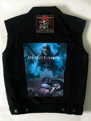 Metalworks Avenged Sevenfold 'Nightmare & Hail To The King' Battlejacket