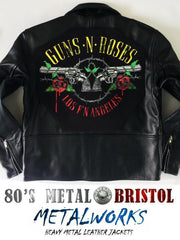 Metalworks Guns N' Roses 'Los F'N Angeles' Leather Jacket