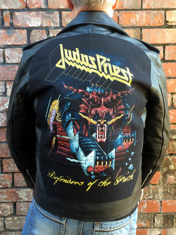 Metalworks Judas Priest 'Defenders of the Faith' Leather Jacket