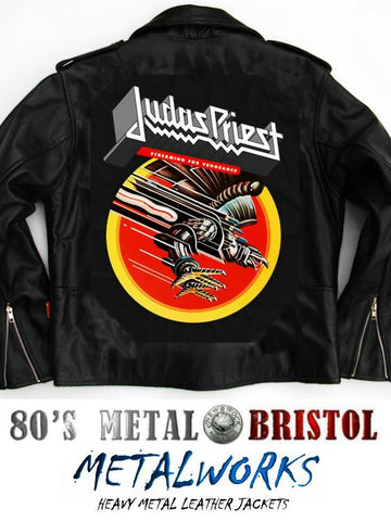 Metalworks Judas Priest 'Screaming For Vengeance' Leather Jacket