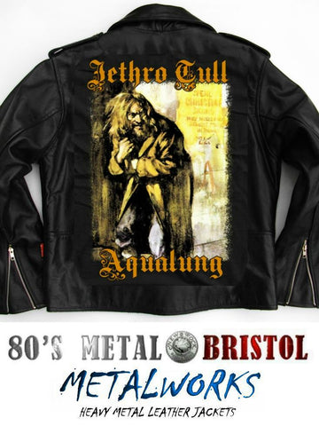 Metalworks Jethro Tull 'Aqualung' Leather Jacket