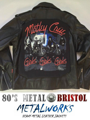 Metalworks Motley Crue 'Girls Girls Girls' Leather Jacket