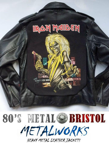 Metalworks Iron Maiden 'Killers' Leather Jacket