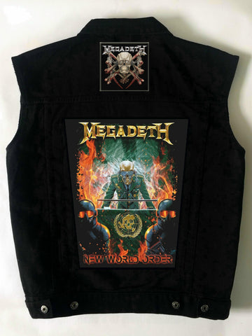 Metalworks Megadeth 'New World Order' Battlejacket