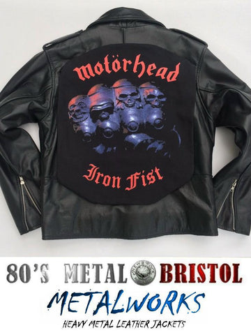 Metalworks Motorhead 'Iron Fist' Leather Jacket