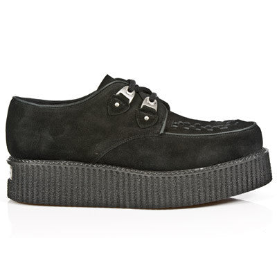 Creepers 2415 C3 Black Suede