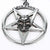 New Rock Pentacle & Neck Chain