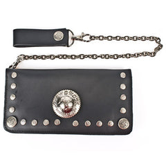 New Rock 003-S1 Wallet & Chain