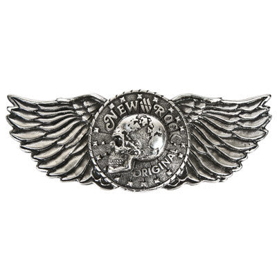 New Rock Winged Skull Belt Buckle