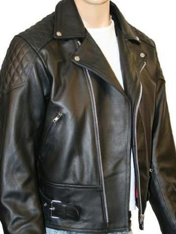 80's Metal 'Rocker' Leather Jacket
