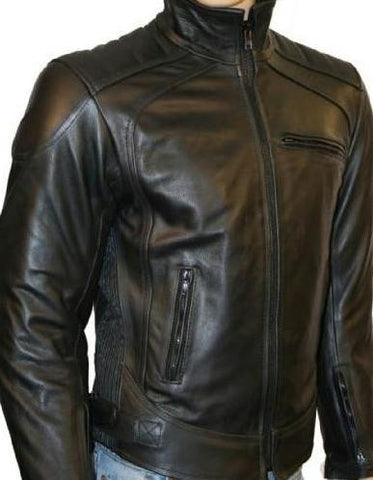 80's Metal 'Warrior' Leather Jacket