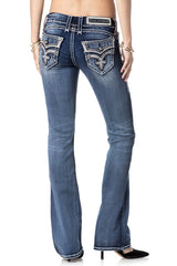 Yeon B219 Boot Cut Jeans