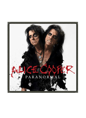 Alice Cooper - Paranormal Metalworks Patch