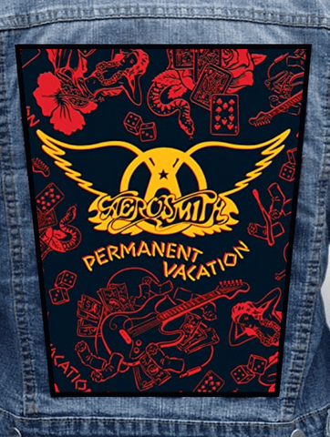 Aerosmith - Permanent Vacation Metalworks Back Patch
